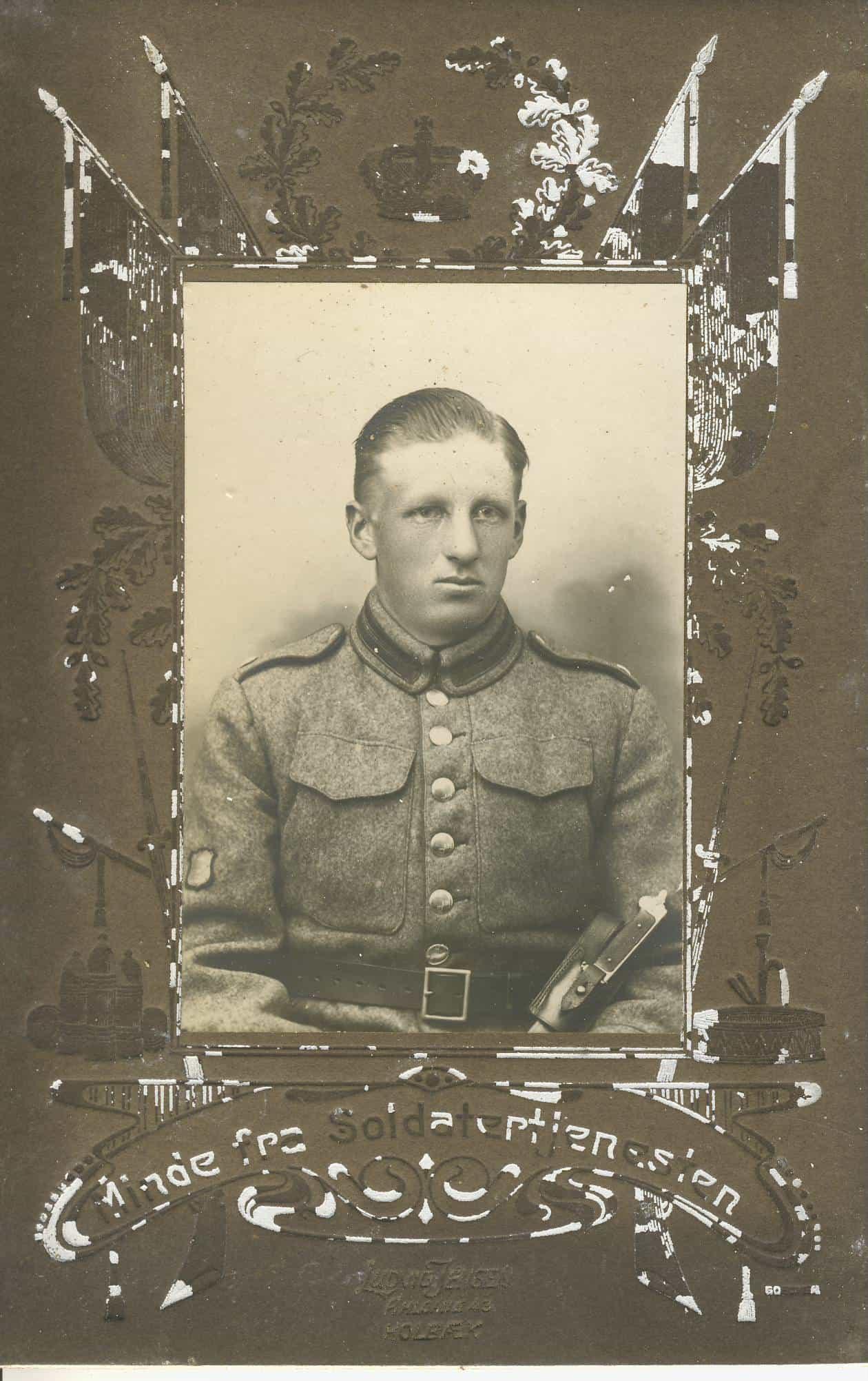 Deserteret til Danmark 1916